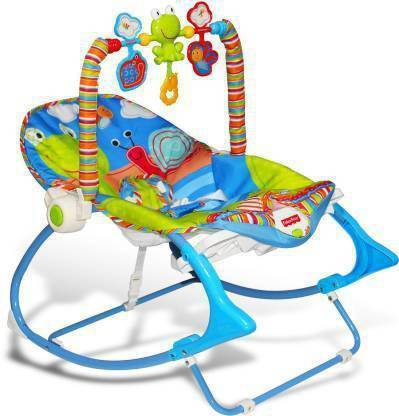 AVARIN Comfy Bouncer With Music & Calming Vibrations Rocker and Bouncer
