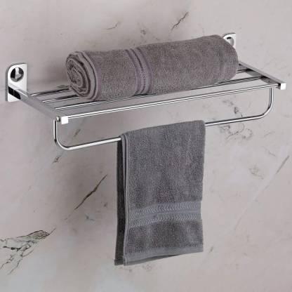 Plantex Dream Stainless Steel Towel Rack, Towel Hanger Bathroom