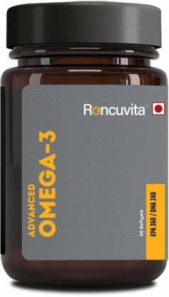 RONCUVITA Omega-3 Fish Oil Advance Strength 1100mg EPA 360mg/ DHA 240mg - 60 Soft gels