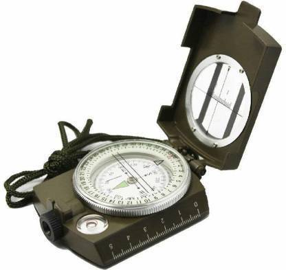 Rangwell Military Army Metal Sighting Compass High Accuracy Compass Cam
