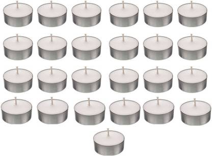 Shreeji Decoration Smokeless Tea Light Candle(25) Candle