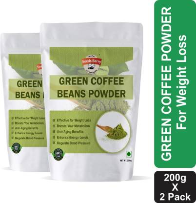 Seeds Berry Organic Green Coffee Beans Powder for Weight Loss and Management Instant Coffee Instant Coffee