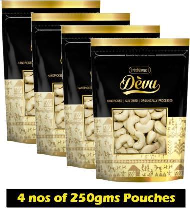 Nidhivan Devu W240 Cashews (1Kg) Cashews