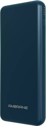 Ambrane 10000 mAh Power Bank (18 W, Power Delivery 2.0, Quick Charge 3.0)