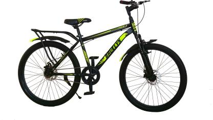 MODERN 26T/Cycle/Mountain Bike In Built Carrier (Matte-Black) 26 T Road Cycle