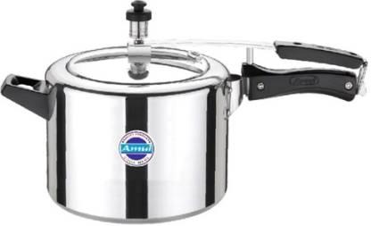 Amul Pressure Cooker 5 ltr Delux Inner Lid (Non Induction) 5 L Pressure Cooker