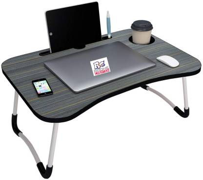 radhe creation Wood Portable Laptop Table