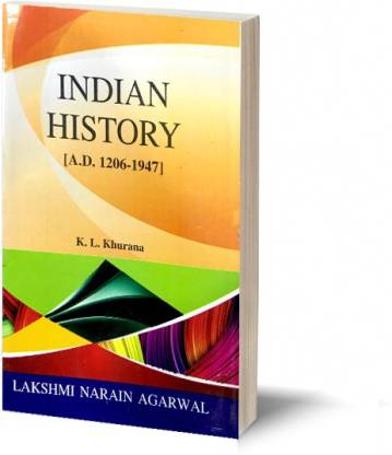 Indian History (1206-1947) [Textbook For B.A. (Pass And Honours), M.A. Civil Service & Other Competitive Examination]