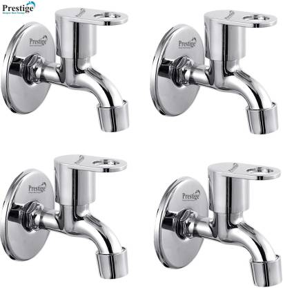 Prestige Premium quality stainless steel Max Bib Cock Tap - Pack of 4 Bib Tap Faucet