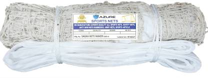 Azure 110E Cotton Practice With P.P Tape Volleyball Net