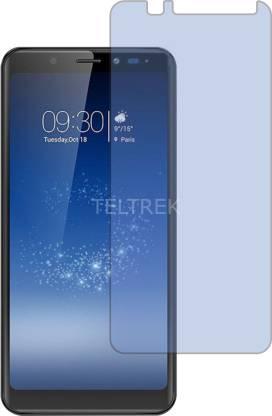 TELTREK Tempered Glass Guard for MICROMAX CANVAS INFINITY HS2 (Antiblue Light, Flexible)