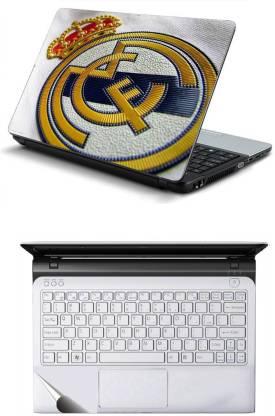 Namo Arts Laptop Skins with Track Pad Skin LISHQ1076 Combo Set
