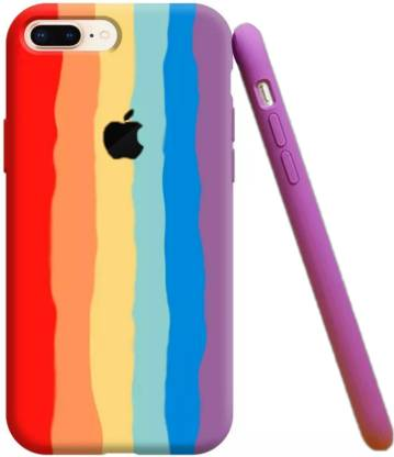 COST TO COST Back Cover for Apple iPhone 6s Plus Rainbow Silicon ...