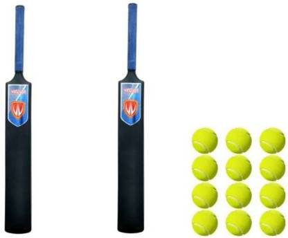 6 Size Willage Hard Plastic Cricket Bat For Tennis /& Wind Ball