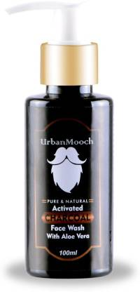 UrbanMooch Activated Charcoal  for Anti-Aging, Oil Control & Skin Brightening Face Wash