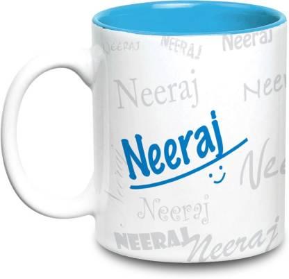 HOT MUGGS Me Graffiti - Neeraj Ceramic Coffee Mug
