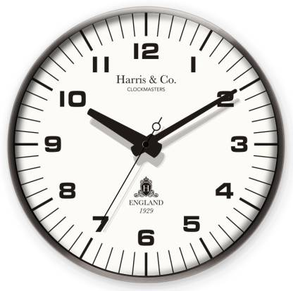 Harris & Co. Clockmasters Analog 35.5 cm X 35.5 cm Wall Clock