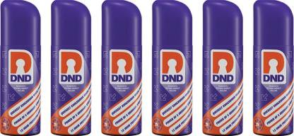 DND Nanosol Flying Insect Killer   Mosquito Repellent Aerosol Spray   Instant Kill Action   12 hrs Protection(6 x 60)