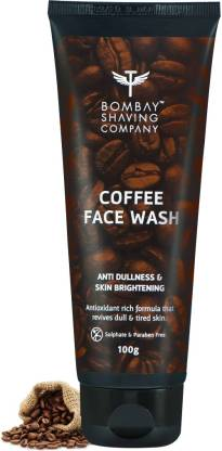 BOMBAY SHAVING COMPANY Blackhead Removal, Deep Cleansing & De-Tanning Coffee  Face Wash