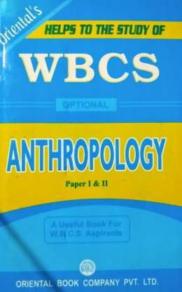 WBCS Optional Anthropology Paper I & II