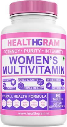HEALTHGRAM Multivitamin for Women with Multivitamins, Multiminerals, Anti-Oxidants, Immunity