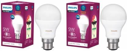 PHILIPS 9 W Round B22 LED Bulb