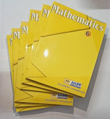 ALLEN 2020 Mathematics Modul Allen Institute Complete Syllabus New For JEE MAIN AND ADVANCED Study Allen Material