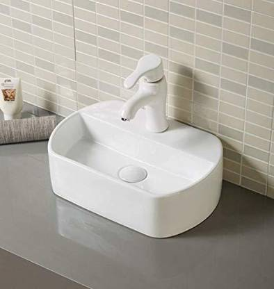 Kudos Wash Basin For Bathroom Sink, 12 Inch Bathroom Sink