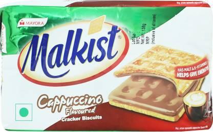 Malkist Cappuccino Cracker Biscuits Cream Cracker Biscuit