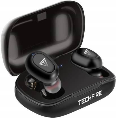 TECHFIRE L21 Wireless Earphone Mini Bluetooth 5.0 Headphone EARUDS Bluetooth Headset(Black, True Wireless)