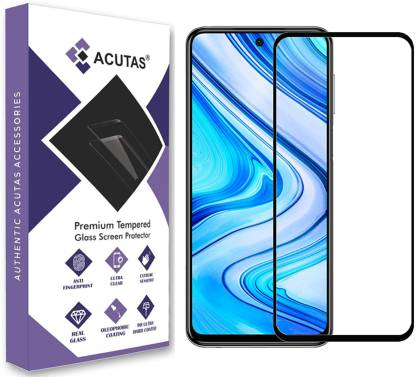 ACUTAS Edge To Edge Tempered Glass for Poco M2 Pro, Mi Redmi Note 9 Pro, Mi Redmi Note 9 Pro Max, Poco X2, Mi Redmi Note 9S, Mi Redmi K30, Mi Redmi K30 Pro, Micromax IN Note 1, Poco X3