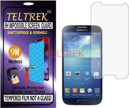 TELTREK Tempered Glass Guard for I9500 (SAMSUNG GALAXY S4) (Flexible, Unbreakable)