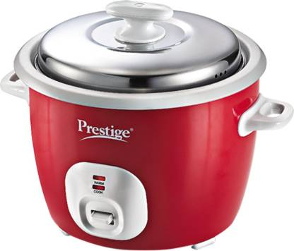 Prestige CUTE 1.8-2 Electric Rice Cooker with Steaming Feature