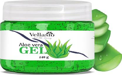 vellasio 100% Pure Aloe Vera Gel for Beautiful Skin & Hair