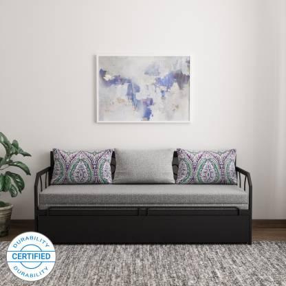 FurnitureKraft Caen Double Metal Sofa Bed