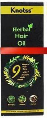 Knotss A Complete Ayurvedic Herbal Hair Oil for Men and Women, Controls Hair Fall And Revive Hair Growth(PACKOF 1) Hair Oil
