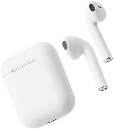 Moojlo BluEtooth HeadSet IN EAR Bluetooth Headset(White, True Wireless)