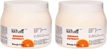 NICE NATURE Orange Extact Massage Cream (set of 2)