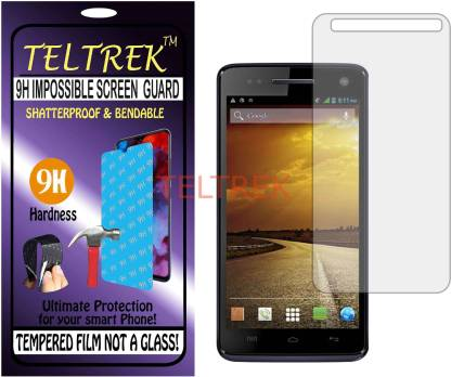 TELTREK Tempered Glass Guard for MICROMAX CANVAS 2 COLOURS A120 (Flexible, Unbreakable)