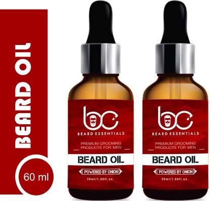 Beard Essentials Premium Beard Growth Oil – Enriched with Rose & Sandalwood oil For Fast Beard Growth – 60ml Hair Oil(60 ml)