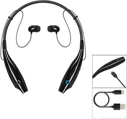 BAGATELLE Wireless Neckband Bluetooth Hbs-730 Earphone Headset Earbud Bluetooth Headset