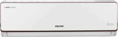 Voltas 2 in 1 Convertible Cooling 1.6 Ton 5 Star Split Inverter AC  - White