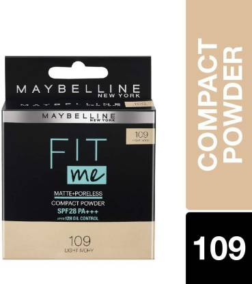 MAYBELLINE NEW YORK Fit me Matte Poreless Compact Powder Compact