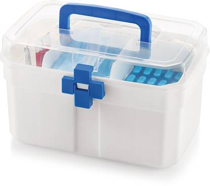 MASTER COOK FIRSTAID Medical Box - 3000 ml(White)  - 3000 ml Polypropylene Utility Container
