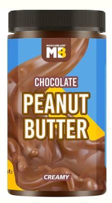 MuscleBlaze Peanut Butter, No Oil Separation, Chocolate Creamy 750 g