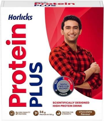 HORLICKS Protein Plus Nutrition Drink (200 g, Chocolate Flavored)