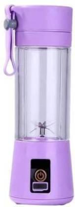 Ketsaal Portable USB Juicer 4 Blades Purple color ,1 Jar Portable USB Juicer 450 Juicer Mixer Grinder (1 Jar, Purple)