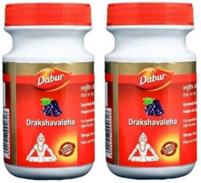 Dabur DRAKSHAVALEHA each 250G ( PACK OF 2 )