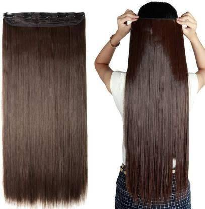 HAVEREAM Natural brown straight Hair Extension