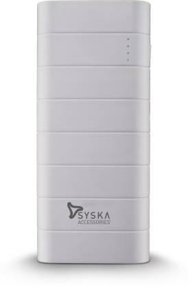 Syska 10000 mAh Power Bank (10 W, Fast Charging)